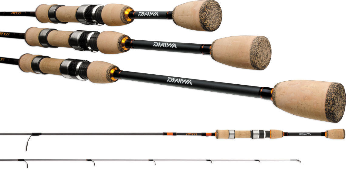 Daiwa Presso Ultralight Travel Spinning Rods