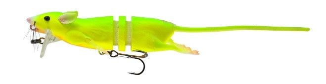 Savage Gear 3D Rat Floating Bait Topwater Crankbait