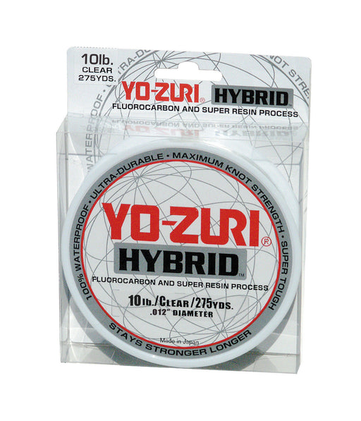 Yo-Zuri Hybrid Clear 275 Yards Monofilament Fishing Line
