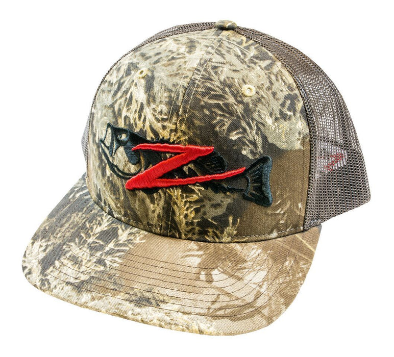 Z Man Logo Trucker Hat Realtree Camo