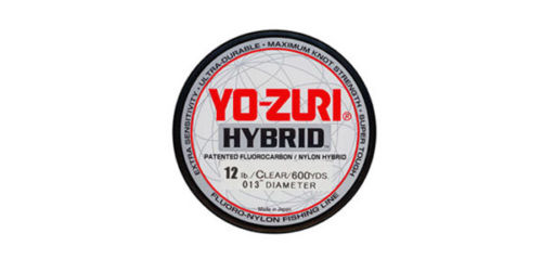 Yo-Zuri Hybrid Clear 600 Yards Monofilament Fishing Line