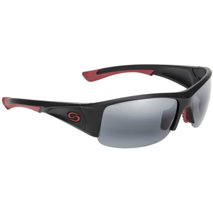 73-Black Red Frame Gray Lens