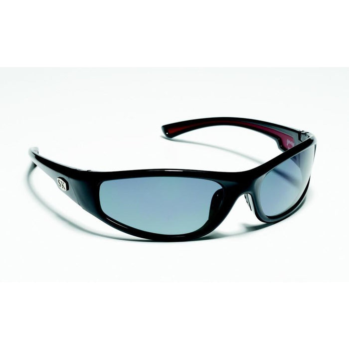 SG-SKP02 Shiny Black Frame Gray Lens