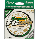 SUNLINE SUPER FC SNIPER FLUOROCARBON 200 YARDS GREEN