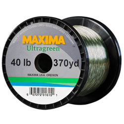 Maxima Ultragreen Copolymer Monofilament 300-600 Yard Guide Spools