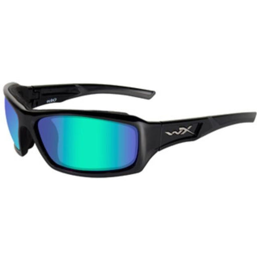 Emerald Mirror Lens - Gloss Black Frame