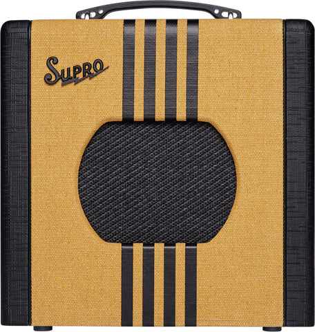 "Supro Delta King 8 - 1x8"" 1W Valve Combo (Tweed)"