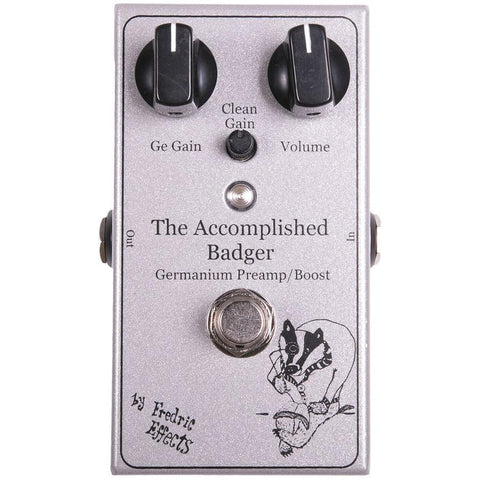 Fredric Effects Accomplished Badger Boost Pedal