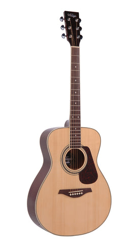 VINTAGE V300NOFT ACOUSTIC GUITAR OUTFIT - NATURAL