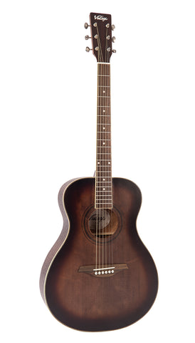 VINTAGE V300AQOFT ACOUSTIC GUITAR OUTFIT - ANTIQUE