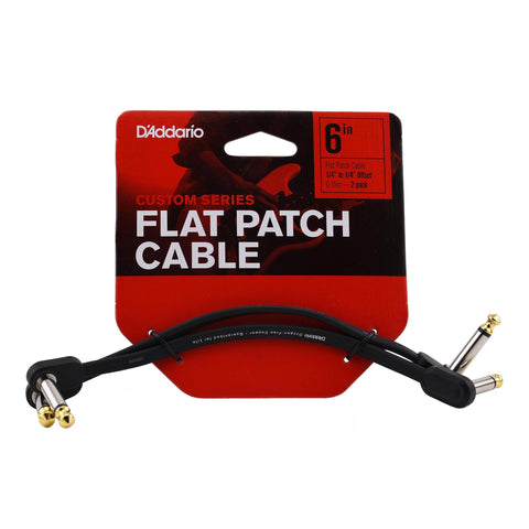 "D'addario Custom 6"" Flat Patch Cable"