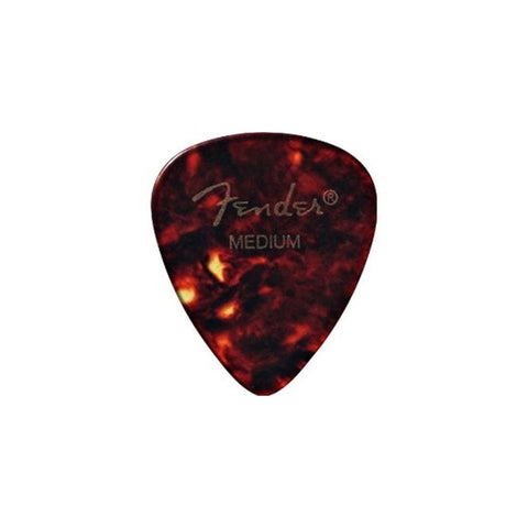 FENDER 351 Classic Celluloid Shell Picks 12-Pack 1mm