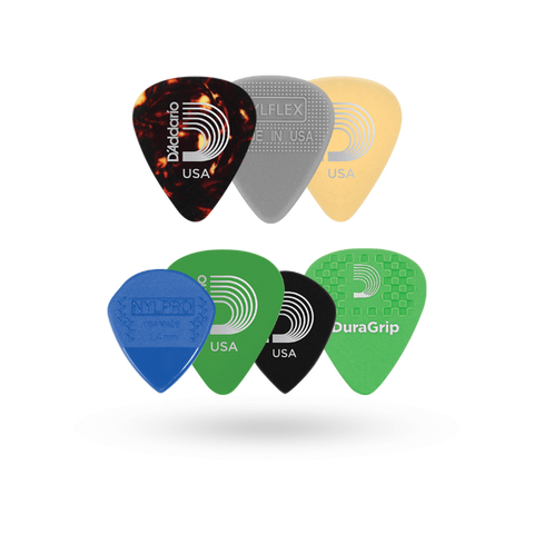 D'addario Plectrum Variety Pack - Medium