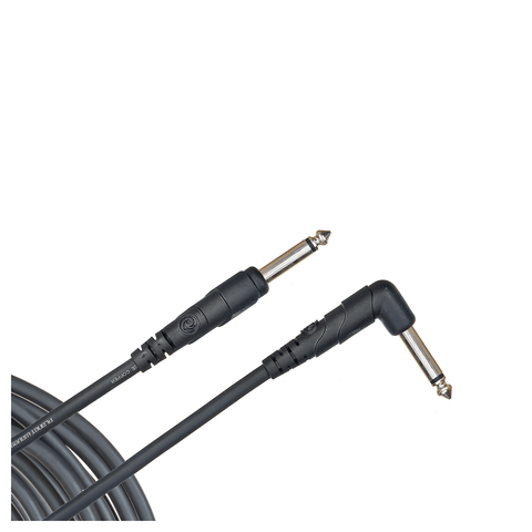 Planet Waves Classic Series Instrument Cable – 20ft Right Angle
