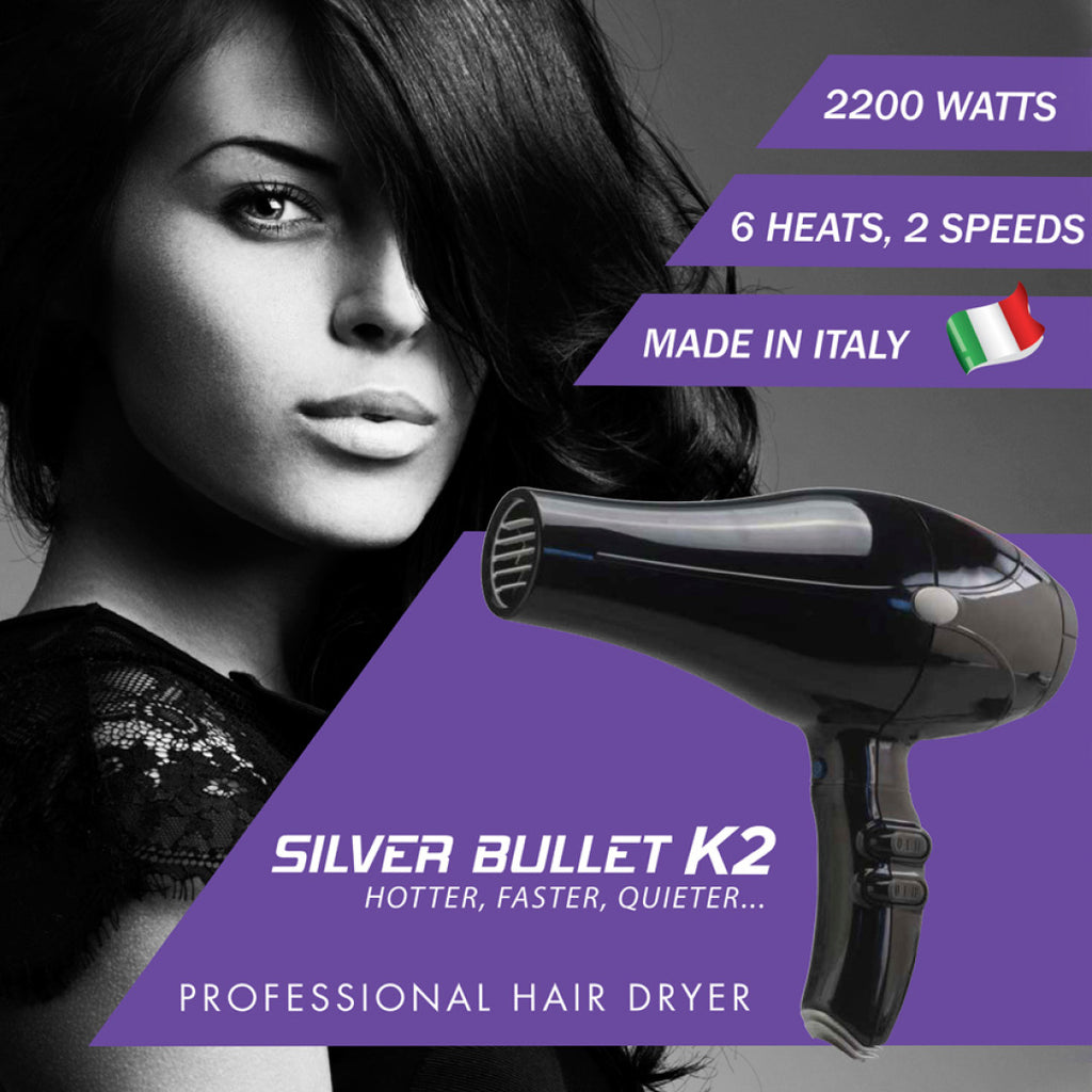 Silver Bullet K2 Dryer 2200w White
