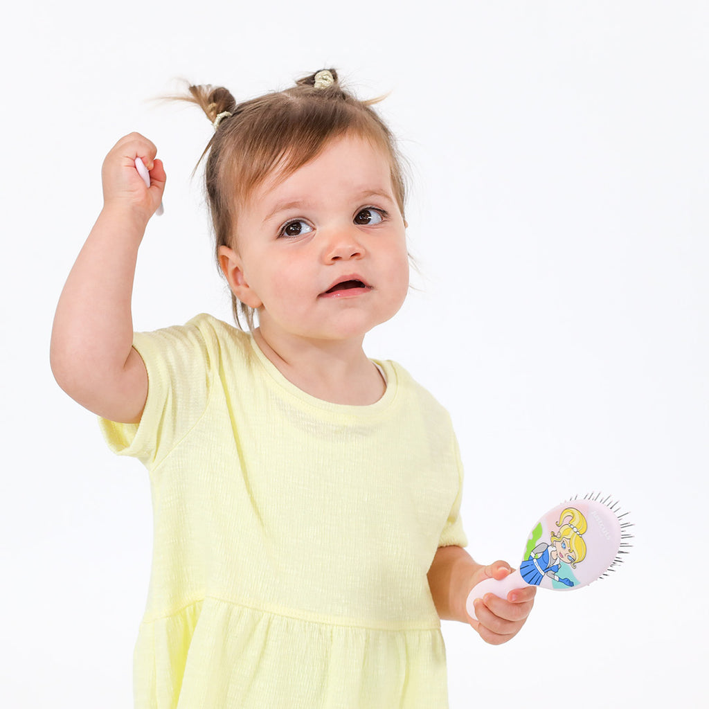 Hairbrush for little hands - PINK
