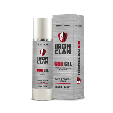 Iron Clan CBD Gel