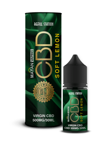 Mayan 500mg Vaping CBD Soft Lemon