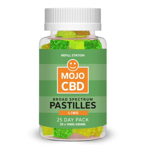 Lime Mojo CBD Pastilles 25 Day Pack