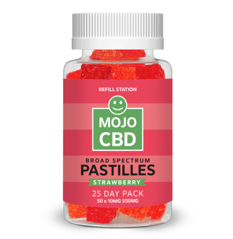 Strawberry Mojo CBD Pastilles 25 Day Pack