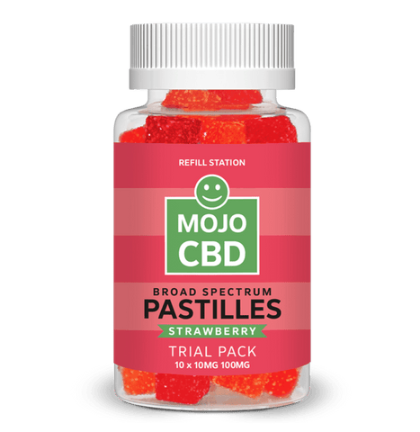 Strawberry Mojo CBD Pastilles Trial Pack