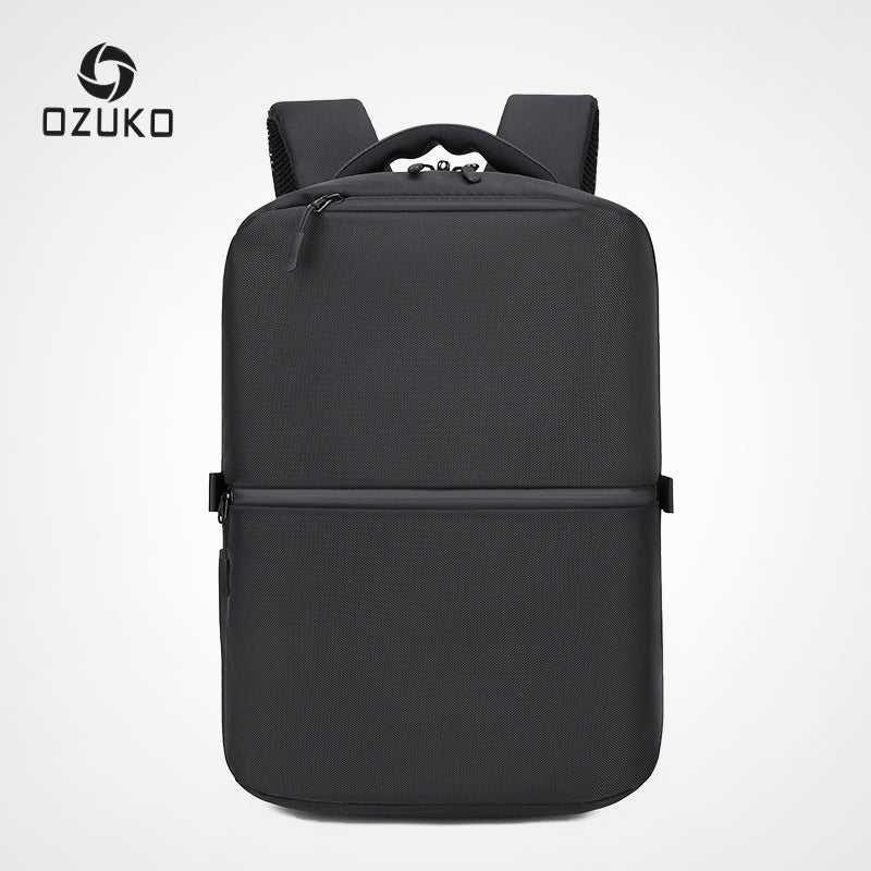 "OZUKO Anti theft 15.6"" Laptop Backpack Waterproof Oxford Men Backpacks USB Male Fashion Travel Bags Teenager Schoolbag Mochila - BestBagShop"