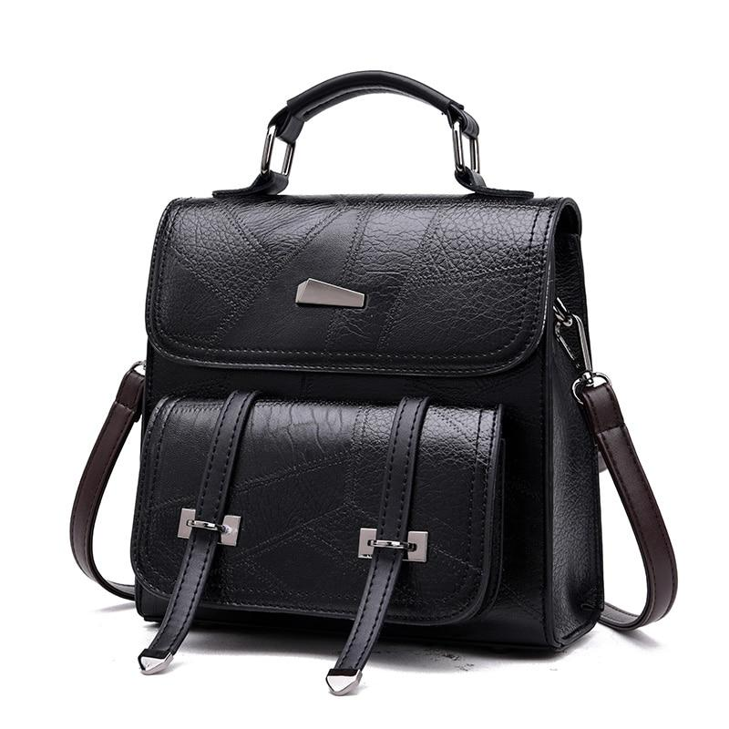 2020 Women Backpack pu Leather Luxurious Women Backpack Large  School Bag For Girls Leisure Shoulder Bags For Women - BestBagShop