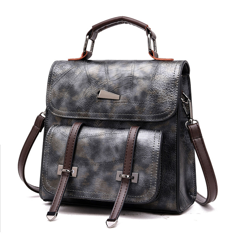 2018 Women Backpack pu Leather Luxurious Women Backpack Large  School Bag For Girls Leisure Shoulder Bags For Women - BestBagShop