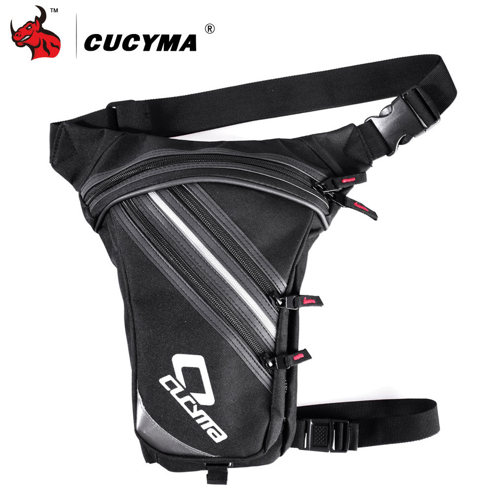 CUCYMA Motorcycle Bag Waterproof Oxford Waist Bag Moto Drop Leg Bag Motorcycle Bicycle Fanny Pack Belt Belt Bag Motorbike Bag - BestBagShop