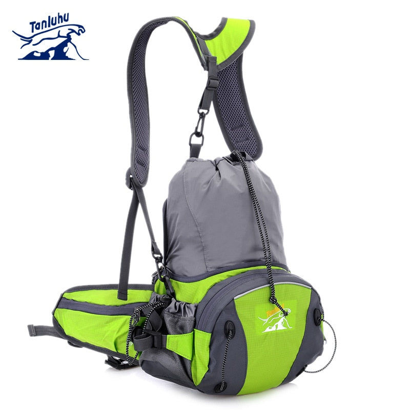 TANLUHU 316 Water-resistant Running Jogging Cycling Climbing Sports Waist Shoulder Cross Bag Handbag Backpack Water Bag - BestBagShop