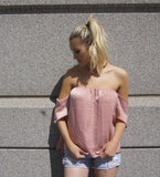 Ria Off The Shoulder - Brittany Aldean Collection