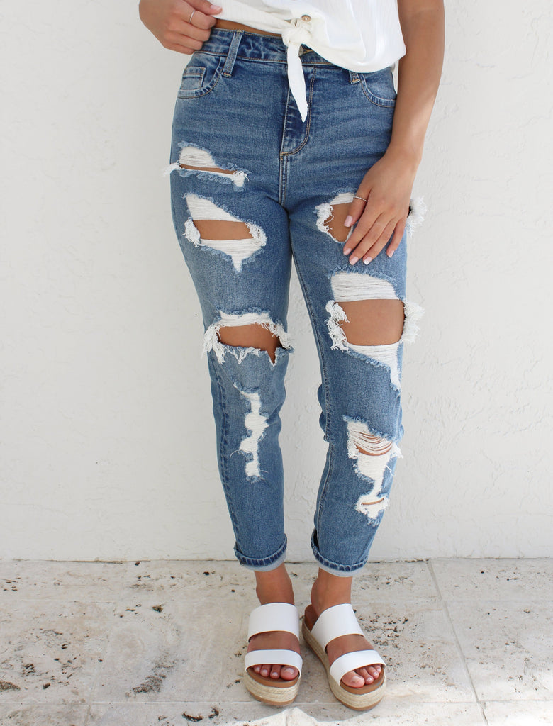 Tori Boyfriend Denim