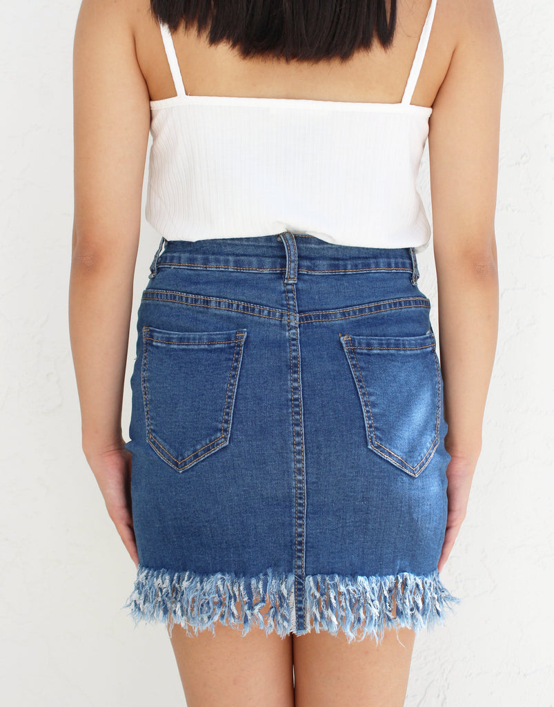 Jude Denim Skirt