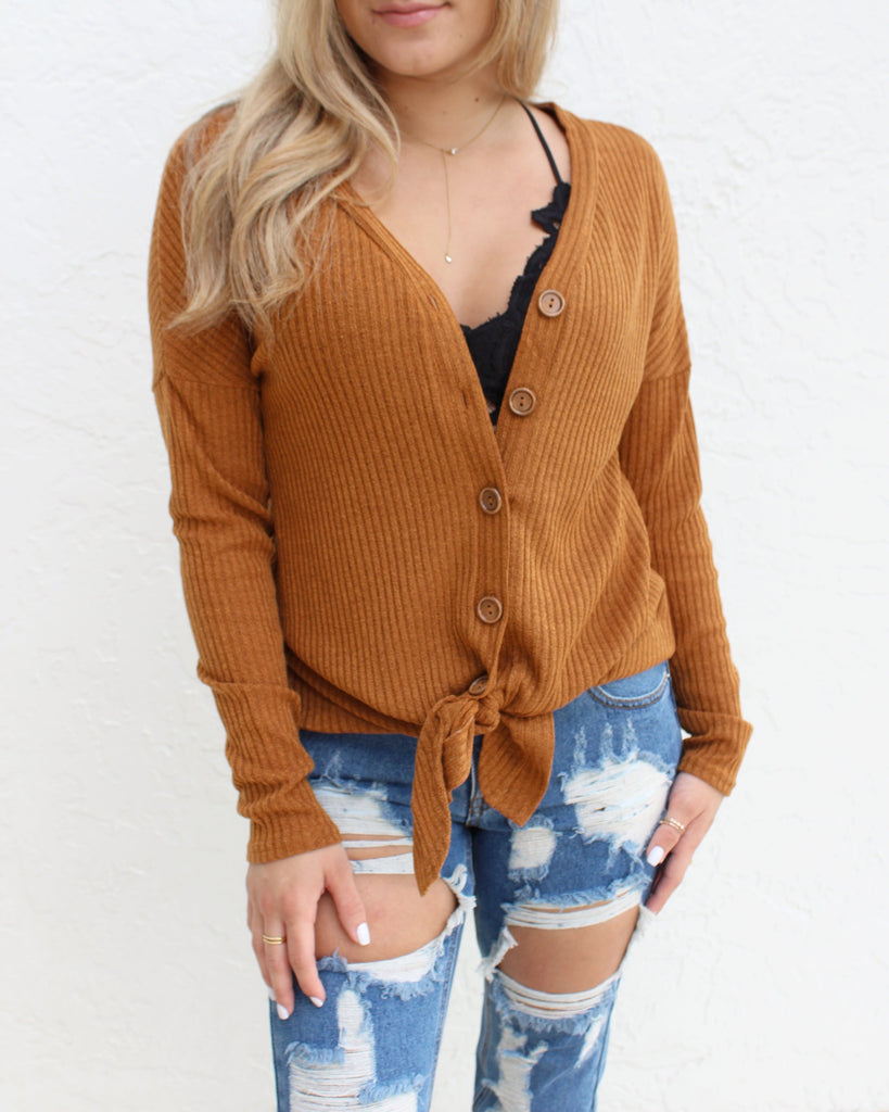 Maxine Button Up Knit