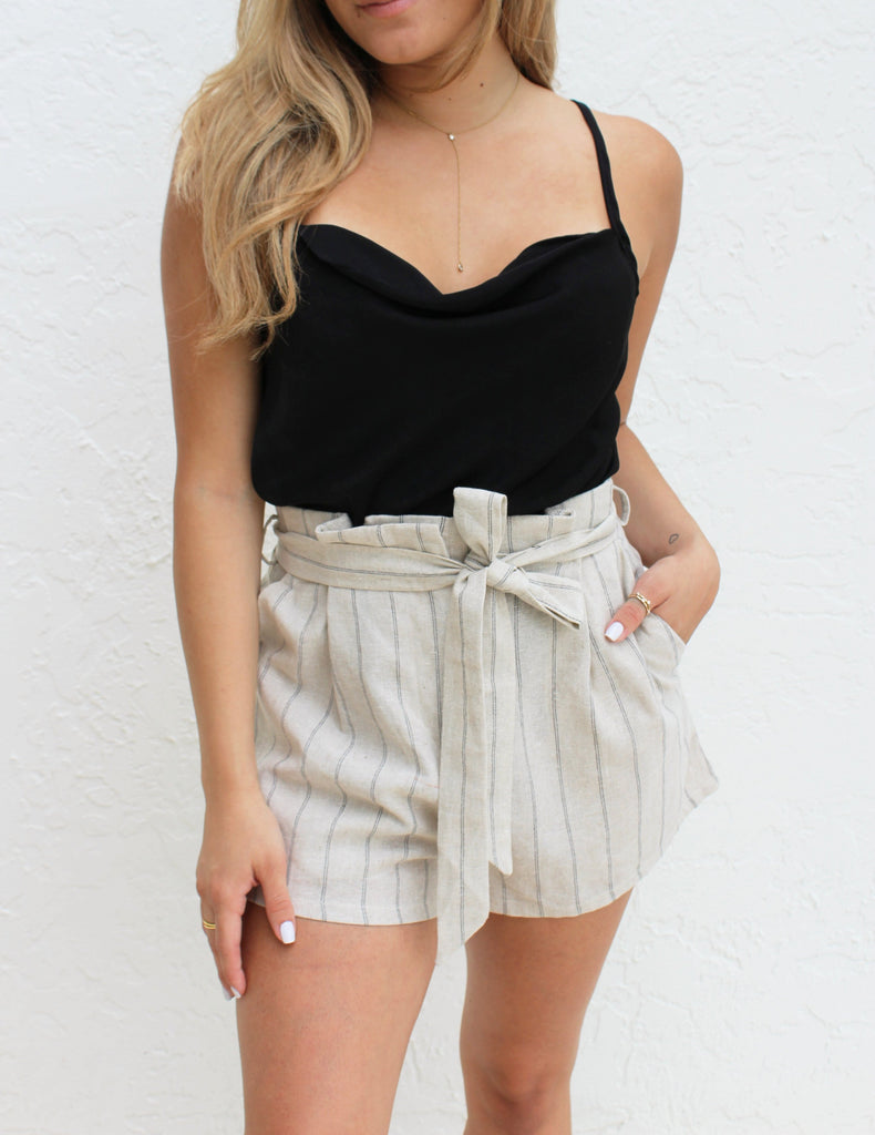Nina Stripe Shorts
