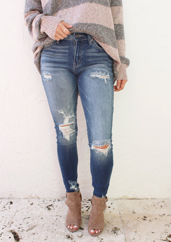 Remi Denim Skirt