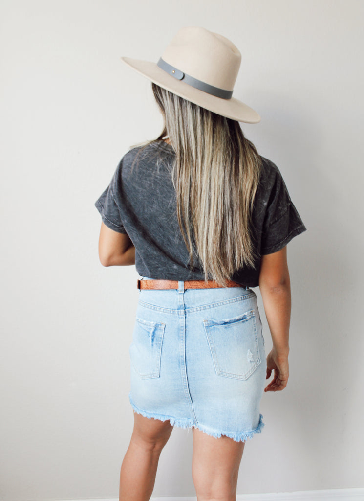 Bella Denim Skirt