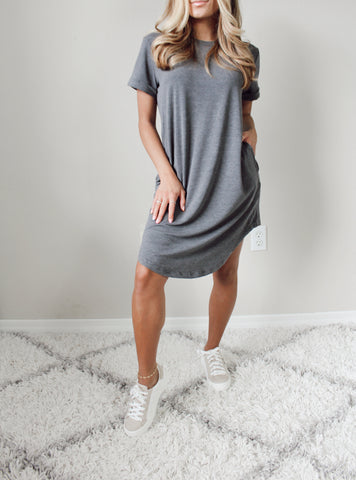 Just My Type Tshirt Dress