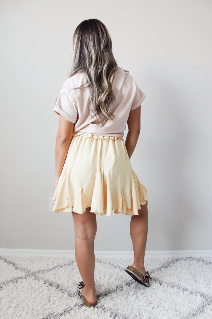 Walking On Sunshine Skirt