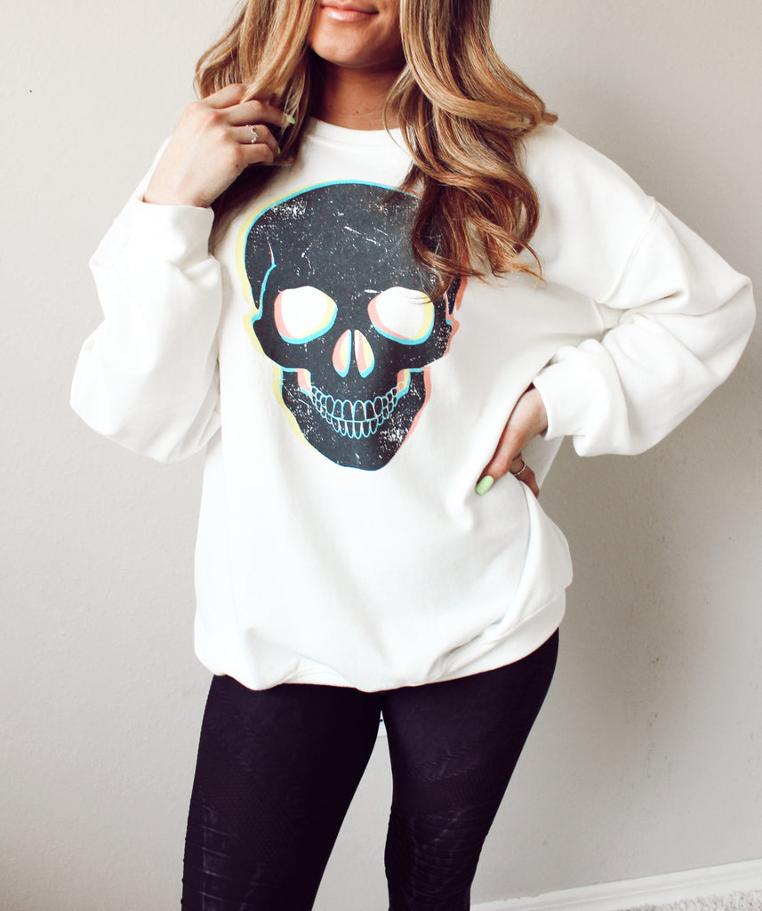 Bad To The Bone Pullover