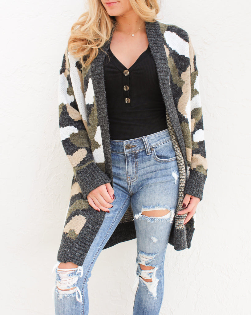 Hide Out Cardigan