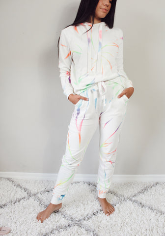 All I Want Tie Dye Lounge Pants