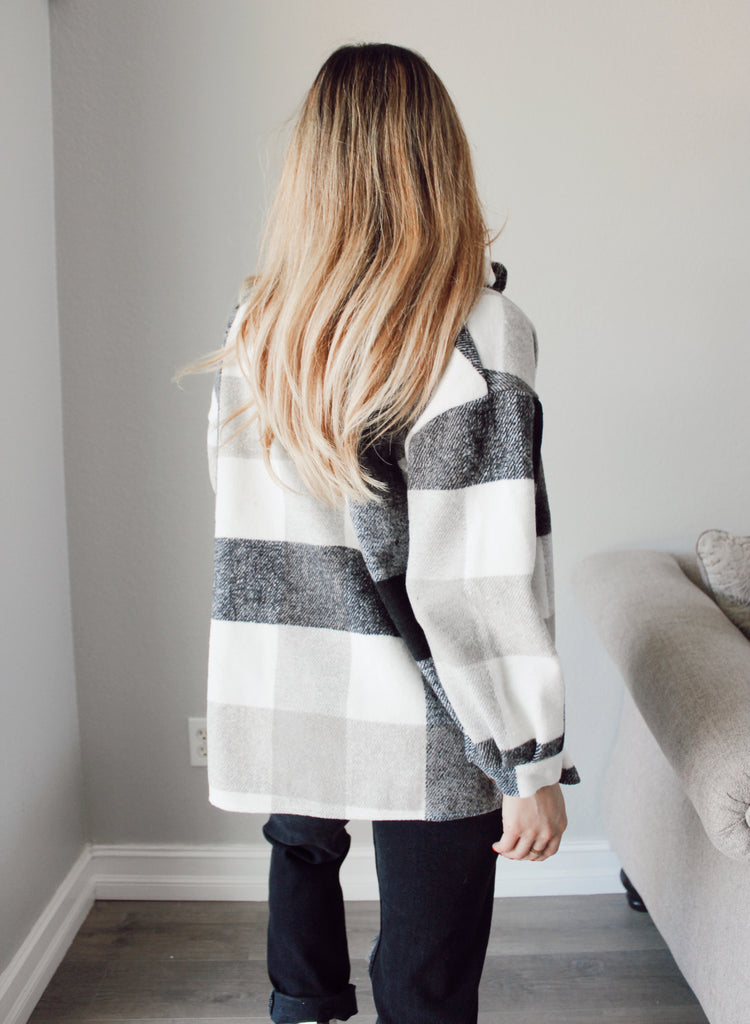 PRE ORDER - Colorado Flannel Shacket - Kailyn Lowry Collection
