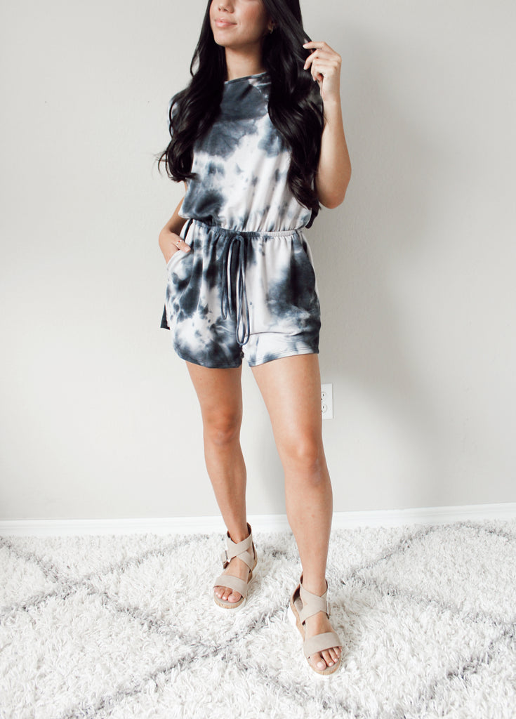 Midnight Moon Romper