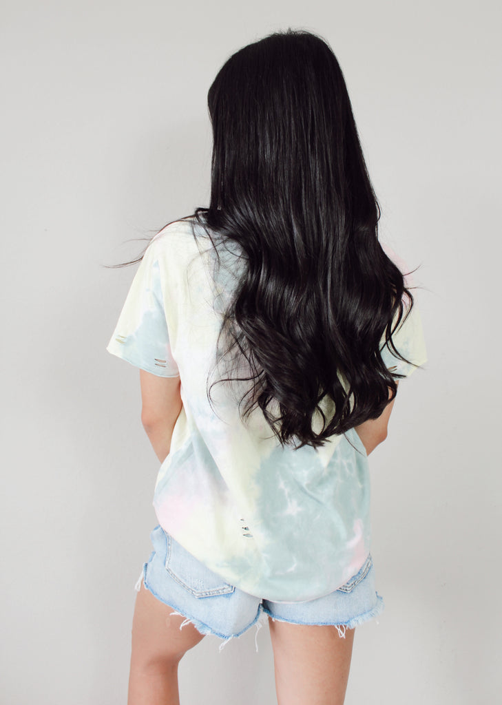 Cassie Distressed Tee