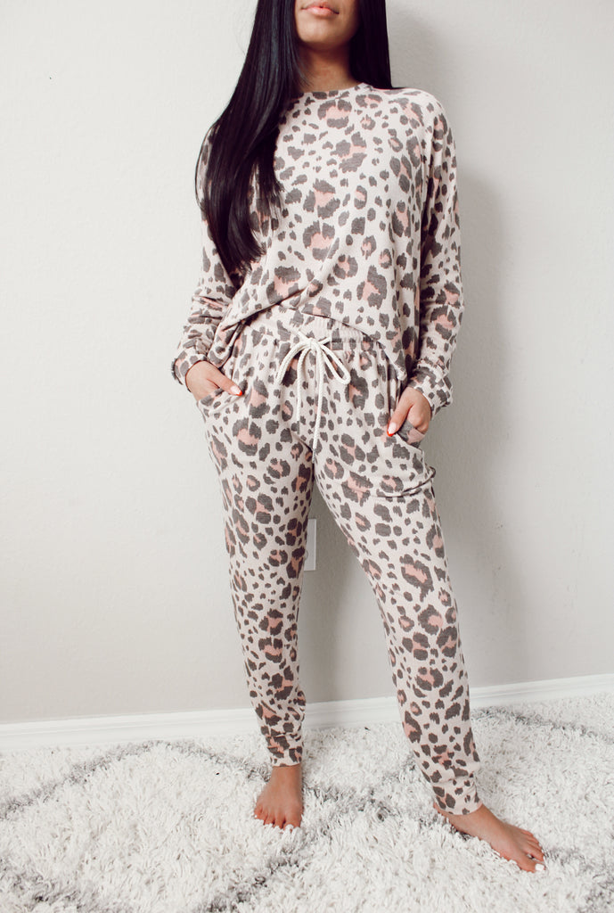 Peyton Leopard Pullover
