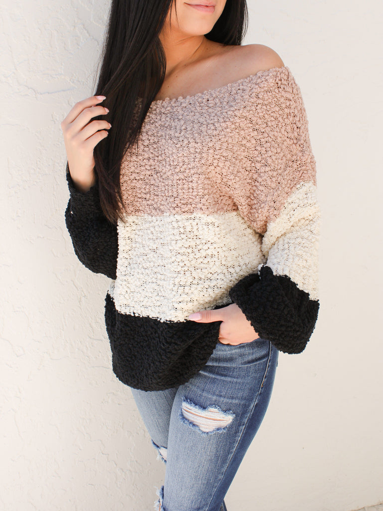 Iced Latte Sweater
