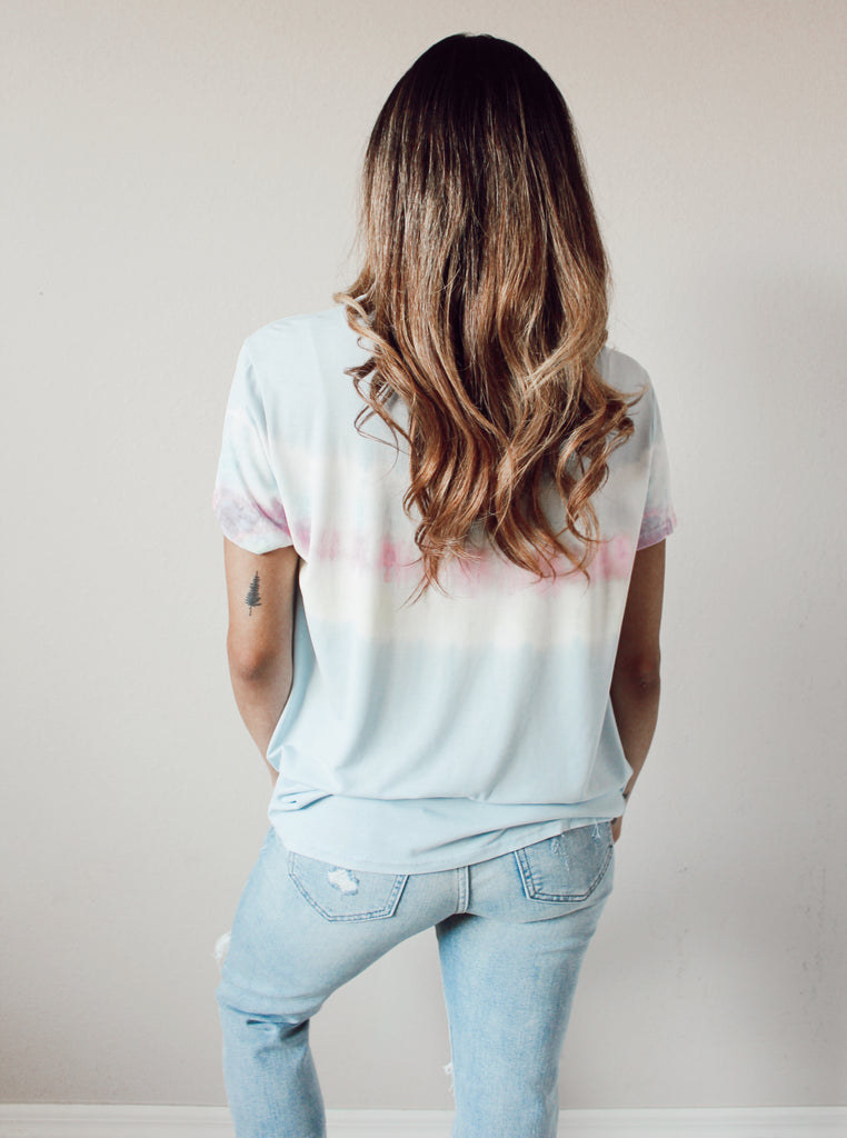Bright Skies Tie Dye Tee