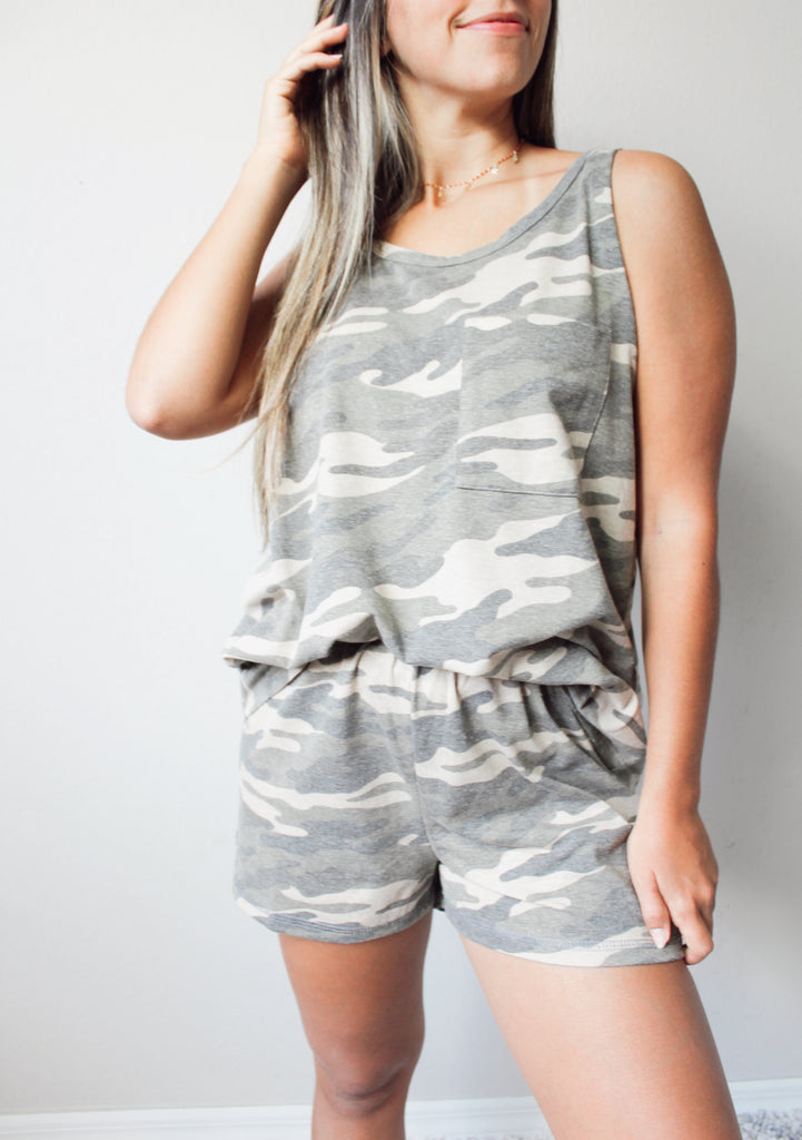 Remy Camo Shorts