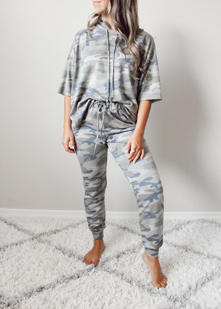 The Camo Relaxed Jogger Set